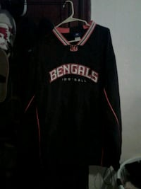 Bengals windbreaker sweatshirt Washington, 20019