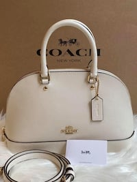 Coach Mini Sierra Satchel - Chalk