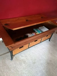 Coffee table with storage North Port, 34287