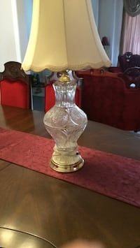 Table lamp in like new condition 25$ very nice looking  Brampton, L7A 4M8