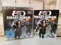 BINARY DOMAİN PS3 ORJİNAL OYUN  8937 km
