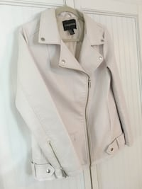 """Size med pale pink """"pleather"""" jacket Southern Pines, 28387"""