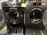 Mix&match Samsung Front Load Washer and Dryer With pedestal Baltimore, 21223