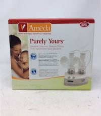 Ameda Breast Pump With 2 Bottles and some extra not used kit Vaughan, L4H 1G2