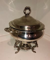 Vintage Eales 1772 Silver Plate Chafing Dish (England) Parkville, 21234