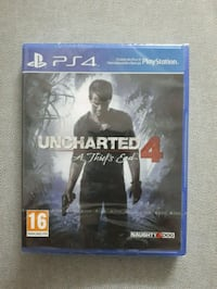 Oöppnad Uncharted 4
