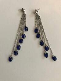 blue and silver beaded necklace Stamford, 06902
