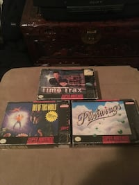 SNES Super Nintendo games boxes  Oshawa, L1H