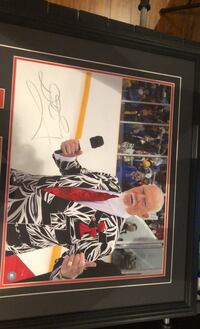 Don Cherry signed picture frame Vaughan, L4H 3N8