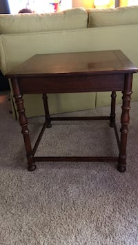 Solid wood square side table!  Athens, 30606