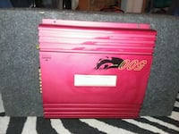red and black Snap-on tool chest Columbus, 31901