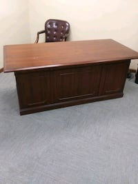 Office desk and chair and dresser together come get it fast