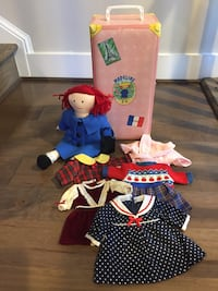 """Madeline 15"""" Cloth Doll with Carrying Case"""