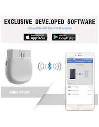 Bluetooth OBD2 Scanner Car Code Reader with All System