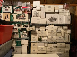 OVER 300 PIECES OF DEPARTMENT 56 DICKENS VILLAGE FROM 1976 TO 2006