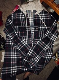 black and white plaid dress shirt Citrus Heights, 95610