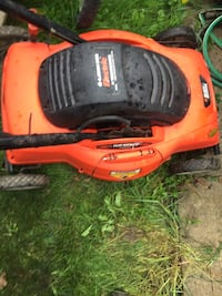 Black & Decker electric lawnmower Toronto, M9N 2C7