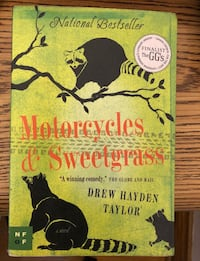 'Motorcycles and Sweetgrass' by Drew Hayden Taylor Toronto, M3M