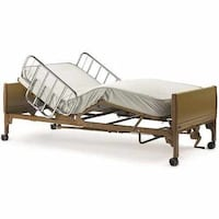 Hospital bed electric bed