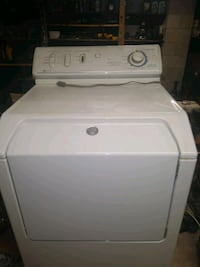 white front-load clothes washer Dracut, 01826