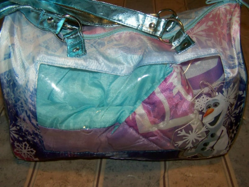Childs Sleeping Bag~Disney Frozen~with Carrying Case c2d98c2a-3849-4901-84d5-fce238f9886f