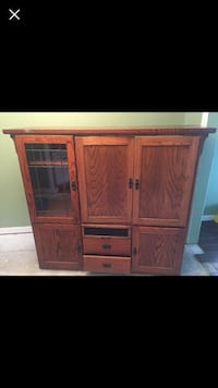 Brown wooden cabinet with shelf Ocala, 34470