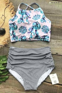 High waist bikinis size medium and large swimsuit Kansas City, 64117