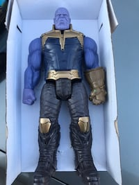 Thanos figure 12 inches new with box El Paso, 79936