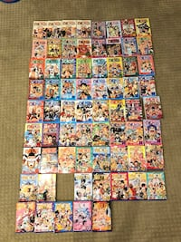 ONE PIECE MAGNA Vol. 1-77, like new!!!