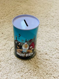 Angry bird piggy bank