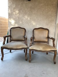 Queen Anne/Victorian Chairs. NEED GONE!