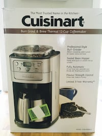 Cuisinart DGB-900BC Grind & Brew Thermal 12-Cup Automatic Coffeemaker Pickering