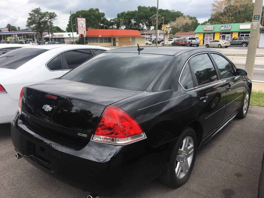 Used 2014 black chevrolet impala in tampa for Select motors of tampa