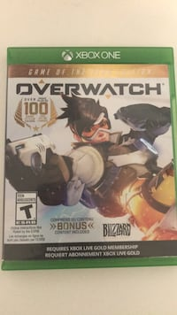 Overwatch for Xbox one/Xbox one S Surrey, V4N 1K2
