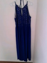 women's blue sleeveless dress Henderson, 89015