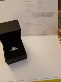 Princess Cut Engagment Ring - $2500.00 obo ABBOTSFORD