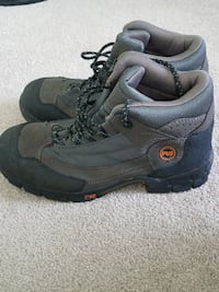 Steel toe Timberland boots