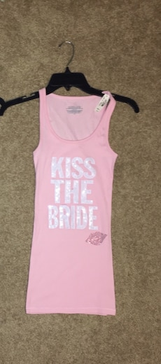 Brand new Victoria's Secret kiss the bride tank