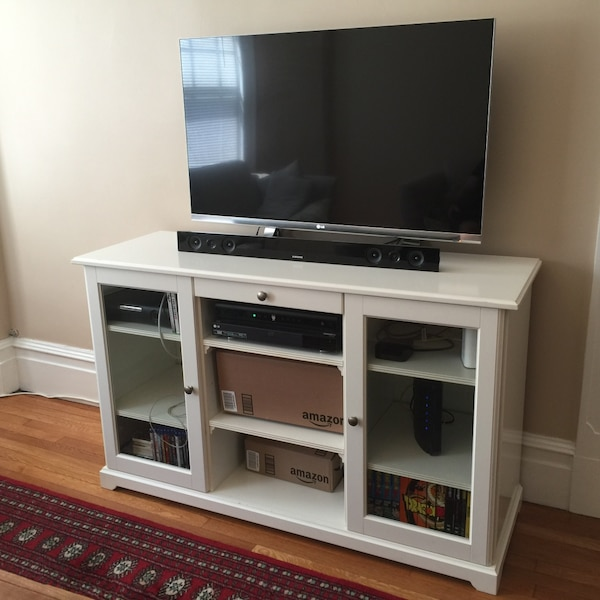 Used Ikea Liatorp Sideboard Tv Cabinet For Sale In Brookline Letgo