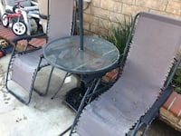 Backyard Chairs and table Riverside, 92503
