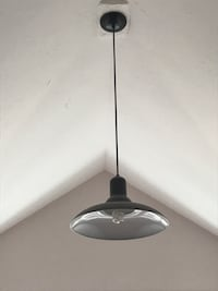 black pendant ceiling lamp Franklin, 02038