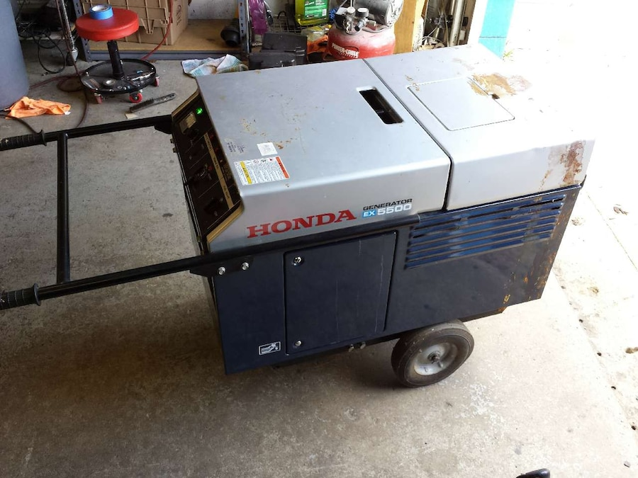 Honda Generator EX5500 Super Quiet Liquid Cooled