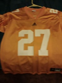 orange and white Adidas NFL jersey shirt Knoxville, 37918