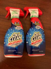 2 Oxi Clean stain removers  Silver Spring, 20905