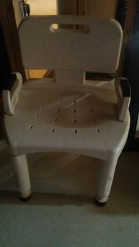 white wooden framed padded armchair Whitchurch-Stouffville, L4A 1H4