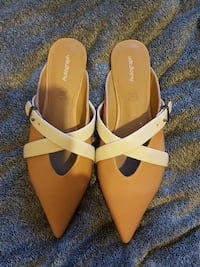 Nude Leather Sandals. 7. MANCHESTER