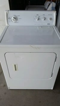 white front load clothes dryer