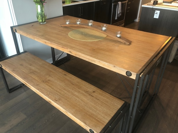 Super Dining Table With Benches Dailytribune Chair Design For Home Dailytribuneorg