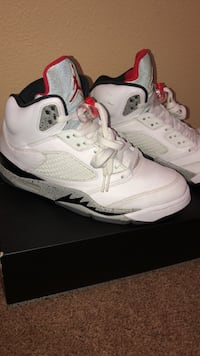 Air Jordan 5 White Cement Indio, 92203
