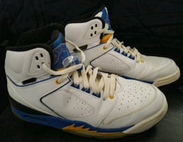 NIKE AIR JORDANS SIXTY PLUS LANEY DEL SOL SHOES.